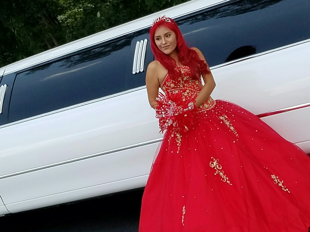Quinceanera limo Charlotte
